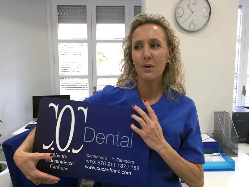 Centro Odontológico Canfranc. Josefa Crespo. Yo soy COC